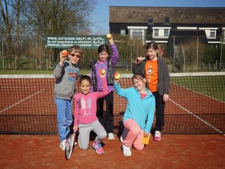 team tenniskids oranje