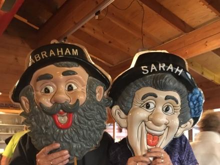 Sarah en Abraham