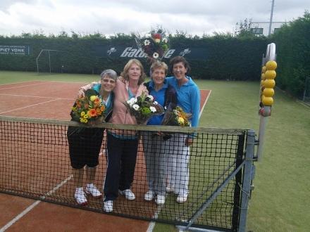Team 1 (Marijke, Pauline, Dineke, Angela en Judith