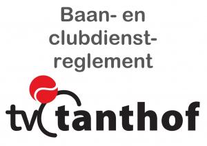 Baan- en Clubdienstreglement