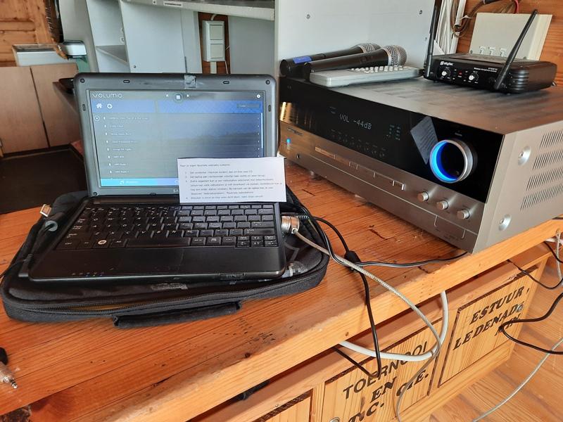 Audio in Clubhuis